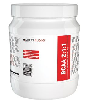 SmartSupps BCAA 2:1:1, 500g