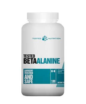 Tested Beta Alanine, 180 caps