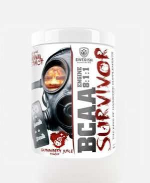 BCAA SURVIVOR, 400G, GUMMIBERRY JUICE