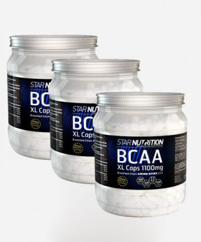 BCAA XL-caps, 900 caps BIG BUY