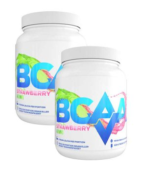 2 x AV BCAA, 500 g, Strawberry Kiwi