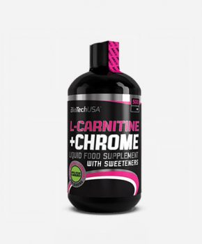 L-Carnitine+Chrome 500ml Grapefruit